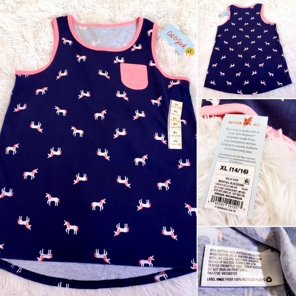 Brand new girl size 14 to 16 Navy unicorn …